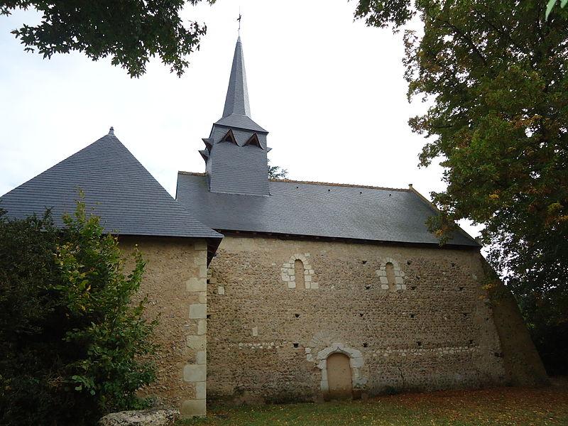Photo du Monument Historique Chapelle Sainte-Cécile situé à Flée