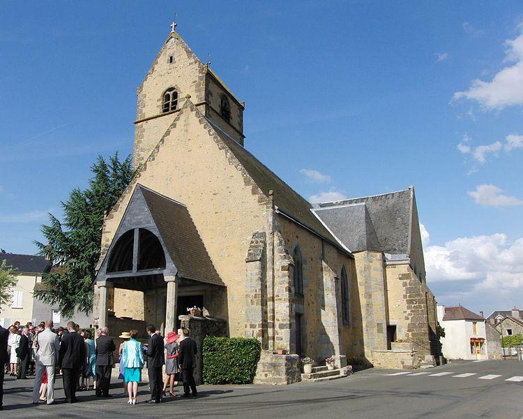 Photo du Monument Historique Eglise situé à Gesnes-le-Gandelin