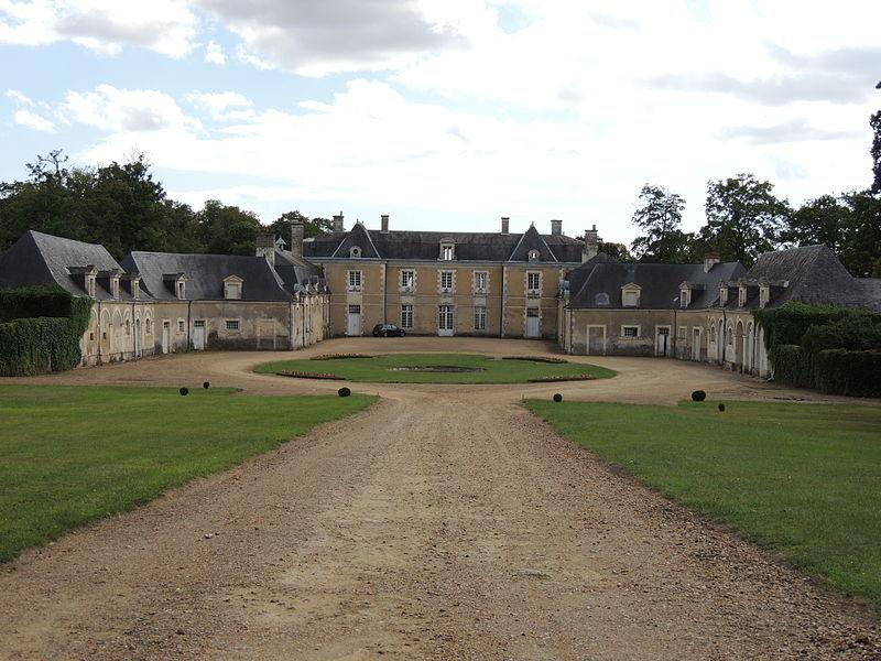 Photo du Monument Historique Château de la Grifferie situé à Luché-Pringé