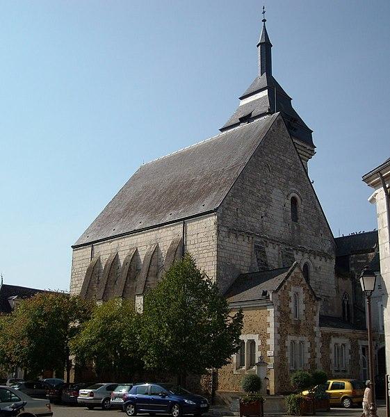 Photo du Monument Historique Eglise de Luché situé à Luché-Pringé