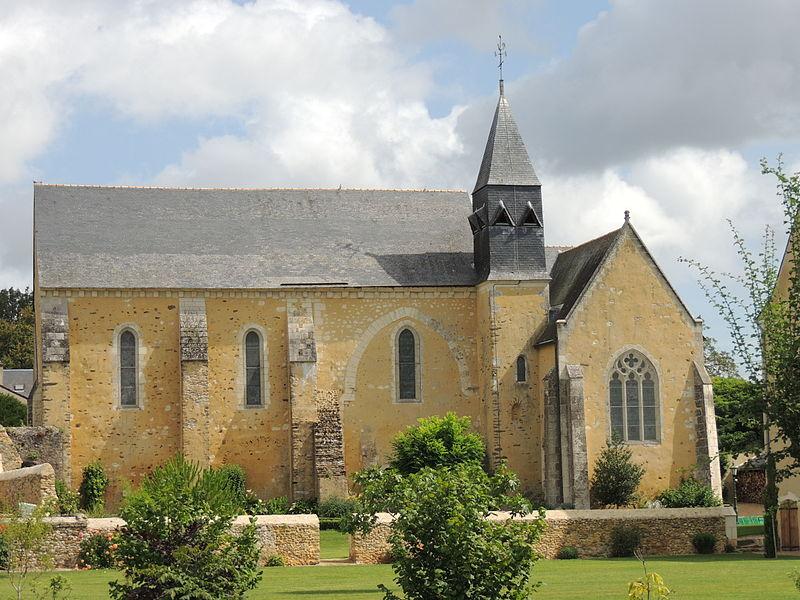 Photo du Monument Historique Eglise de Pringé situé à Luché-Pringé