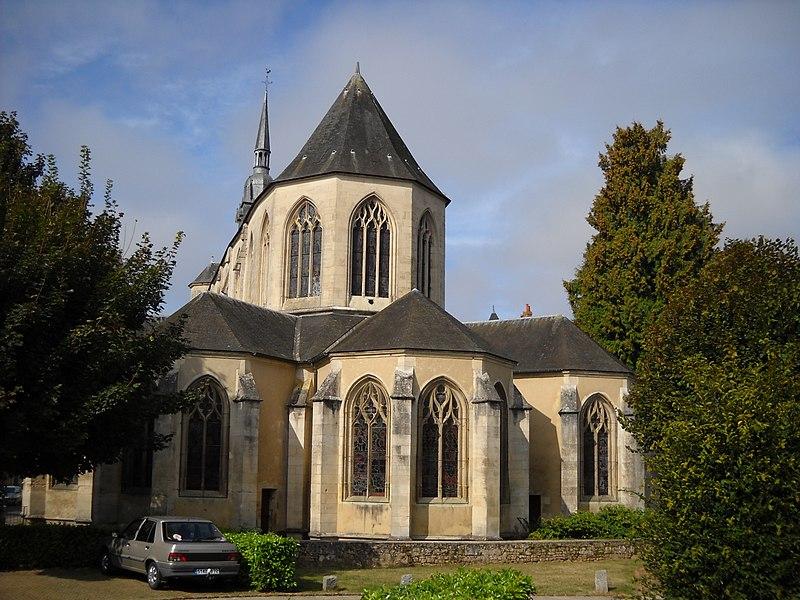 Photo du Monument Historique Eglise Notre-Dame situé à Mamers