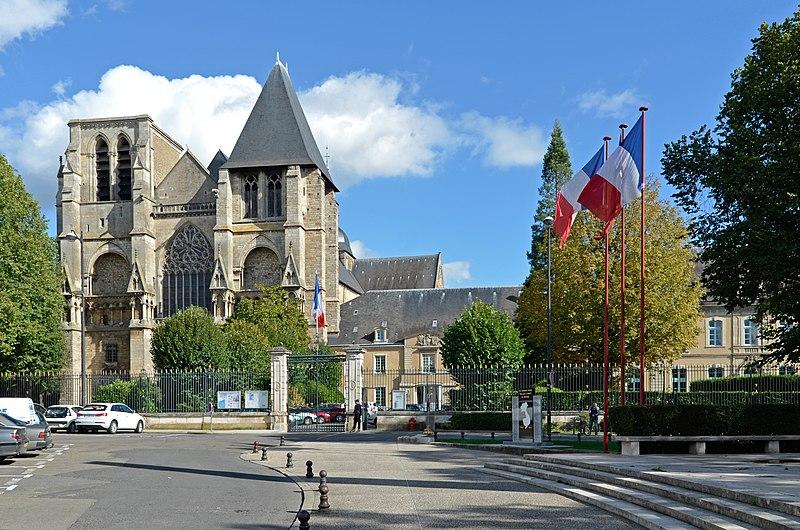 Photo du Monument Historique Abbaye de la Couture situé à Le Mans