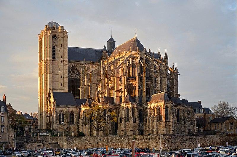 Photo du Monument Historique Cathédrale Saint-Julien situé à Le Mans