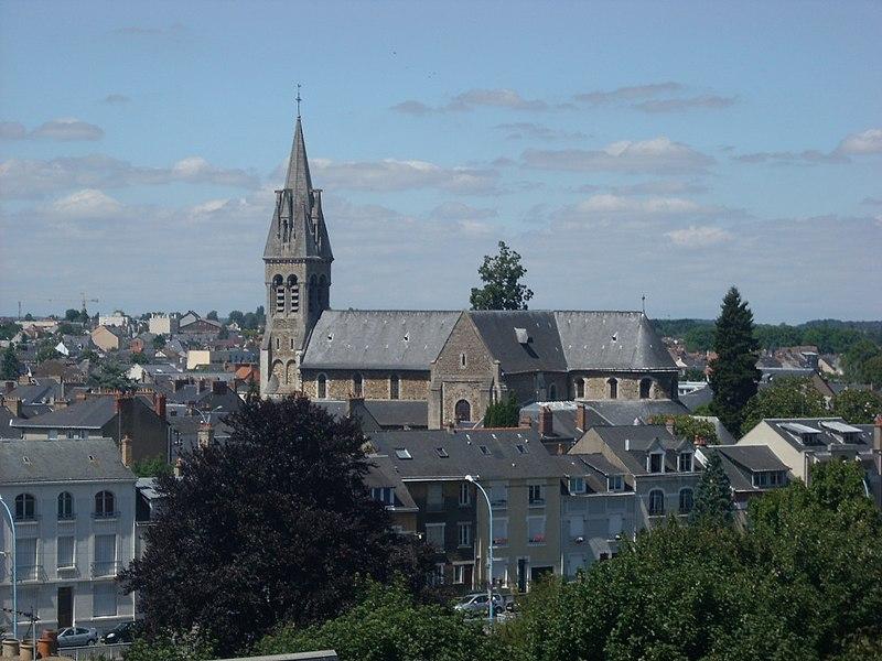 Photo du Monument Historique Eglise Notre-Dame-du-Pré situé à Le Mans