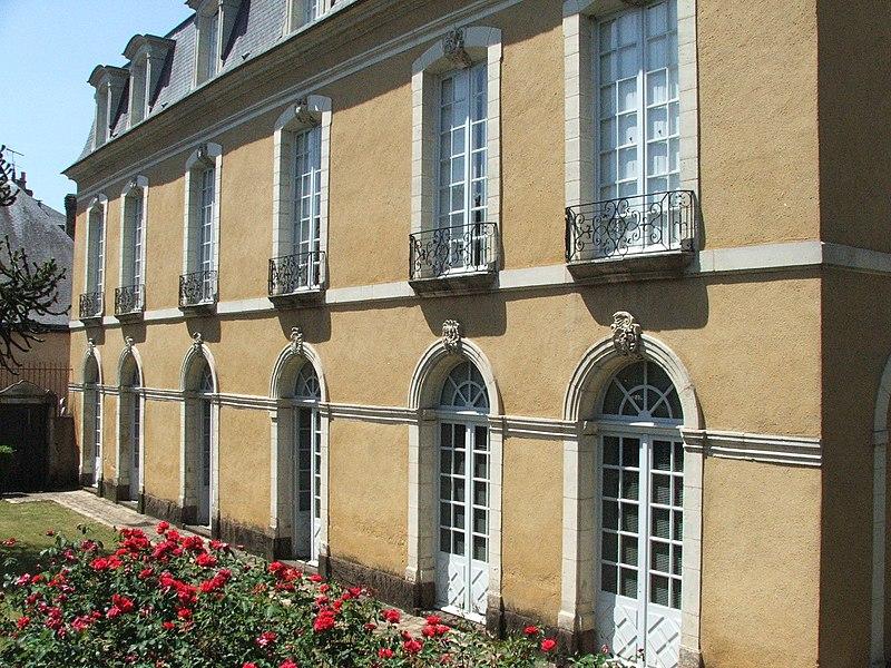 Photo du Monument Historique Hôtel Belin de Béru situé à Le Mans