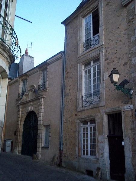 Photo du Monument Historique Hôtel de Courcival situé à Le Mans