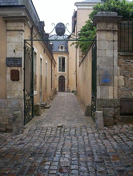 Photo du Monument Historique Hôtel Nepveu de Rouillon situé à Le Mans