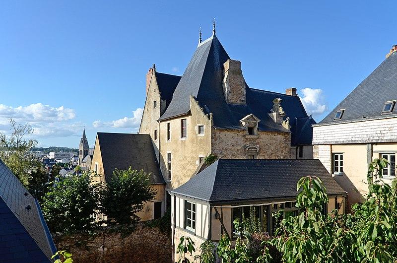 Photo du Monument Historique Hôtel de Vaux situé à Le Mans