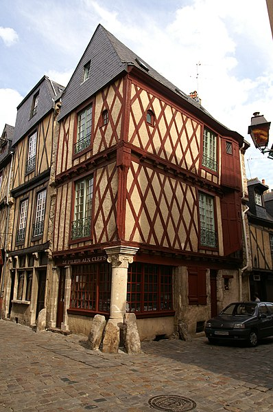 Photo du Monument Historique Maison situé à Le Mans