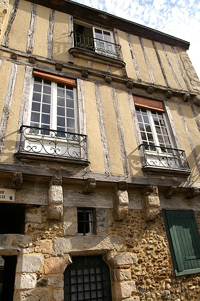 Photo du Monument Historique Maison situé à Mans (Le)