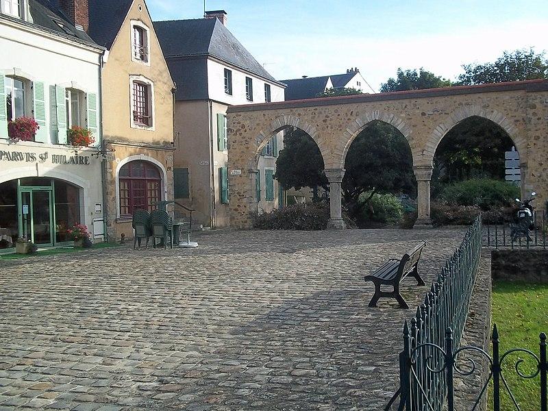 Photo du Monument Historique Sol de maison à maison situé à Mans (Le)