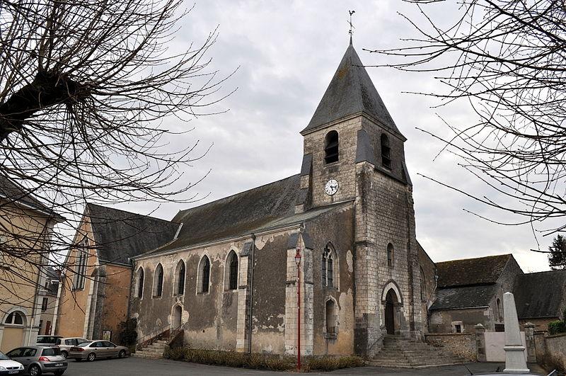 Photo du Monument Historique Eglise situé à Mansigné