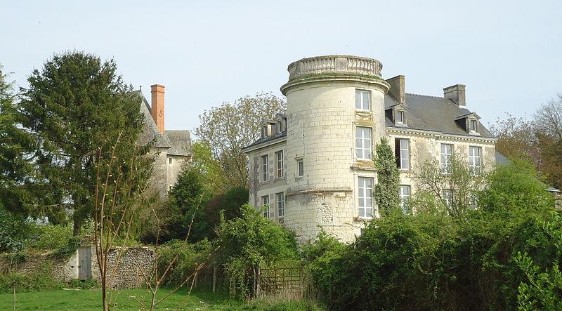 Photo du Monument Historique Château du Fort-des-Salles situé à Mayet