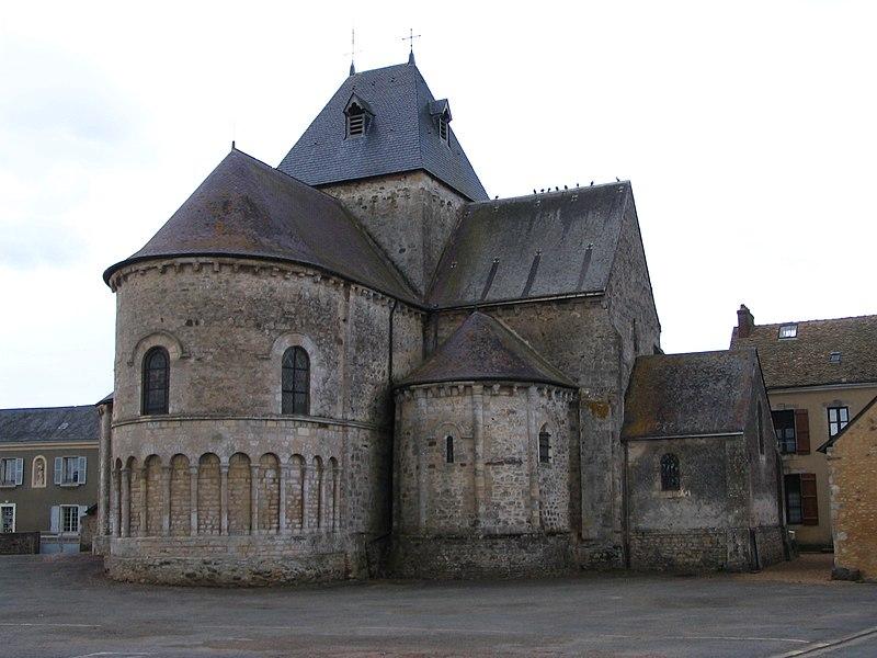 Photo du Monument Historique Eglise situé à Neuvy-en-Champagne