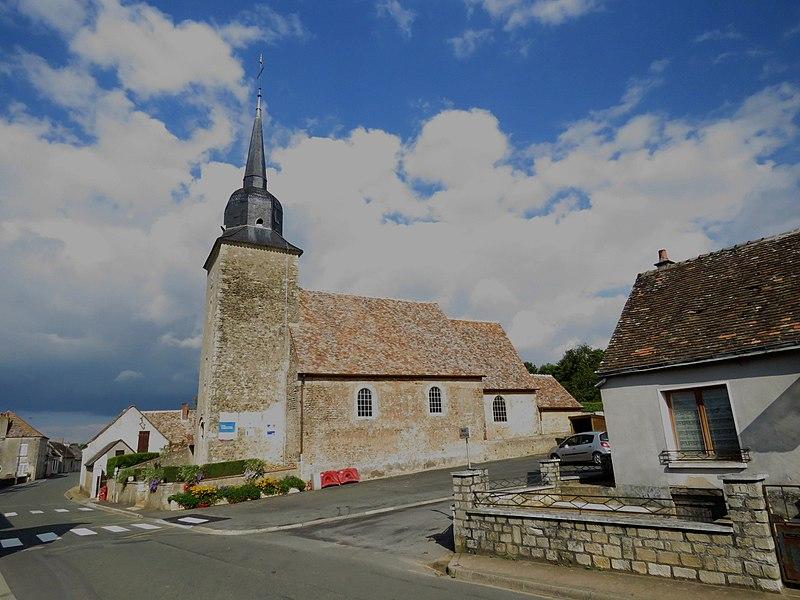 Photo du Monument Historique Eglise paroissiale situé à Nuillé-le-Jalais