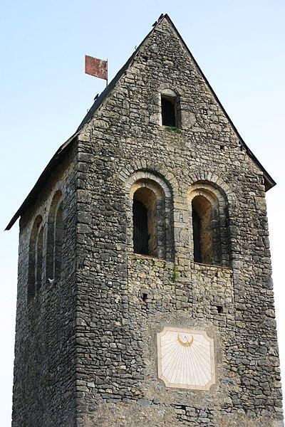 Photo du Monument Historique Tour Saint-Pierre situé à Parcé-sur-Sarthe