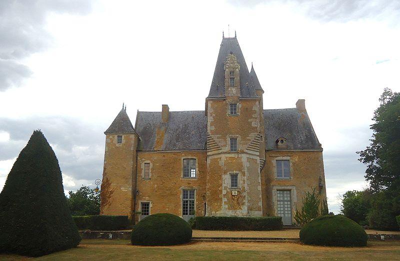 Photo du Monument Historique Château de la Balluère situé à Pirmil