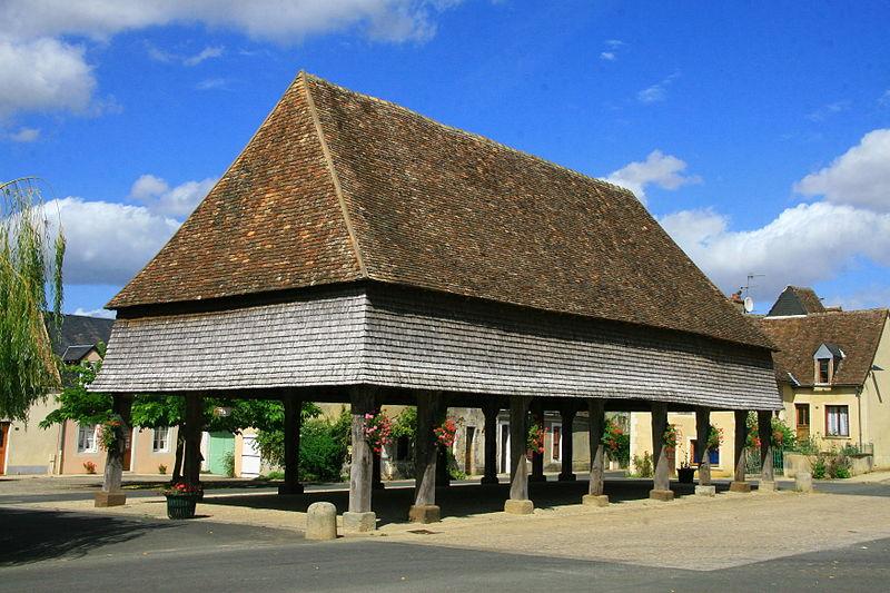 Photo du Monument Historique Halles situé à René