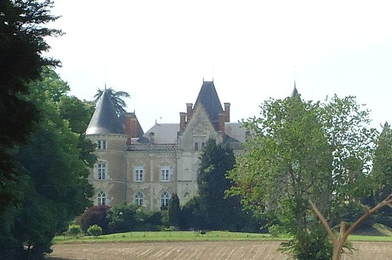 Photo du Monument Historique Château de la Roche-Mailly situé à Requeil