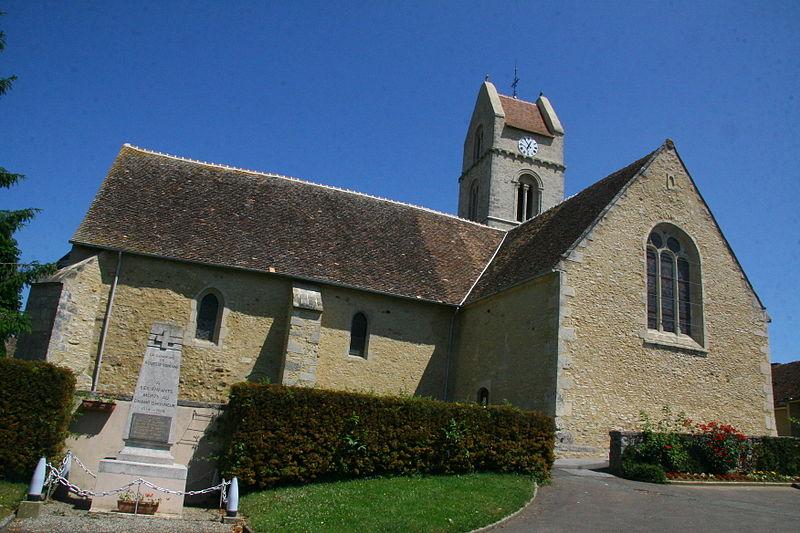 Photo du Monument Historique Eglise situé à Rouessé-Fontaine