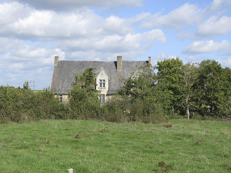 Photo du Monument Historique Manoir de Gautret situé à Sablé-sur-Sarthe