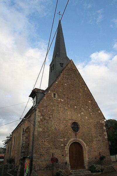 Photo du Monument Historique Eglise situé à Saint-Célerin