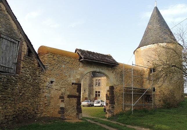 Photo du Monument Historique Manoir de la Chevallerie situé à Sainte-Cérotte