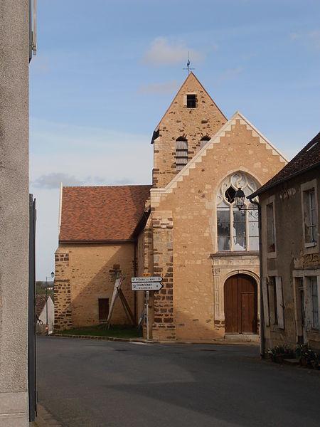 Photo du Monument Historique Eglise paroissiale Saint-Christophe situé à Saint-Christophe-en-Champagne
