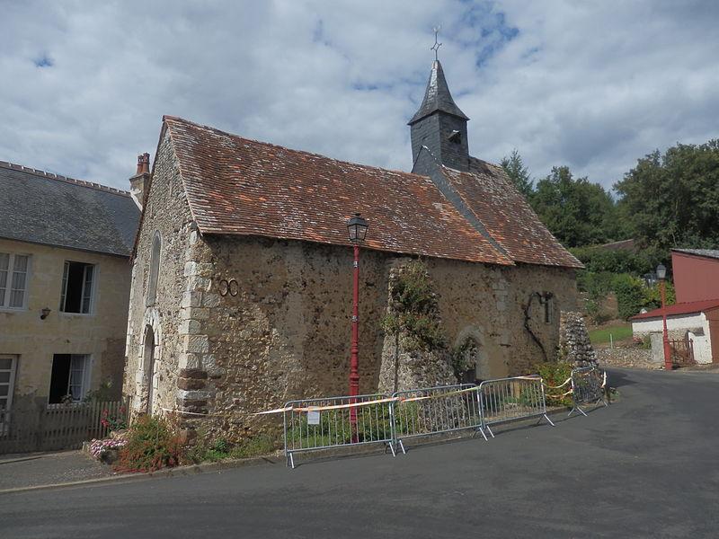 Photo du Monument Historique Chapelle Saint-Fraimbault situé à Saint-Georges-de-la-Couée
