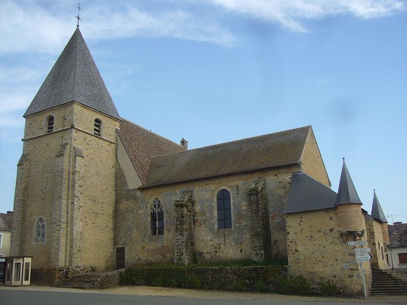 Photo du Monument Historique Eglise paroissiale Saint-Georges situé à Saint-Georges-du-Rosay