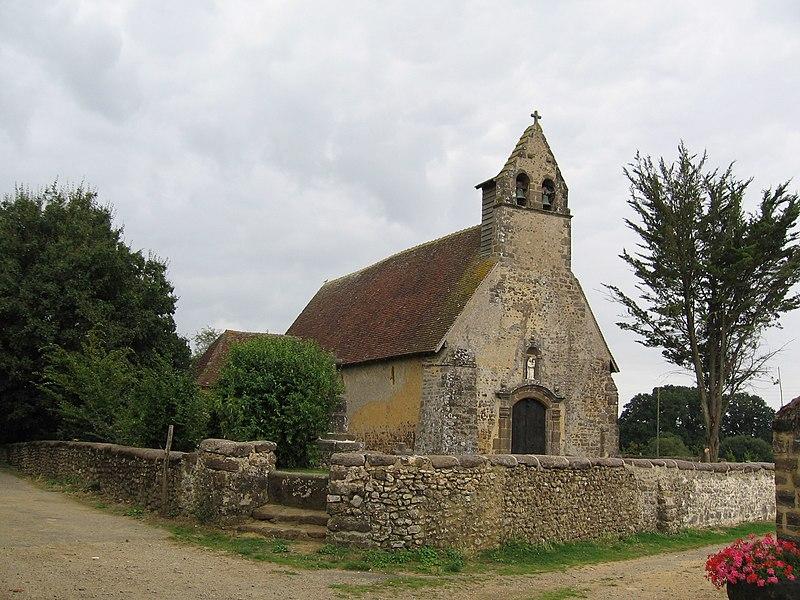 Photo du Monument Historique Chapelle Notre-Dame-des-Champs situé à Saint-Jean-d'Assé