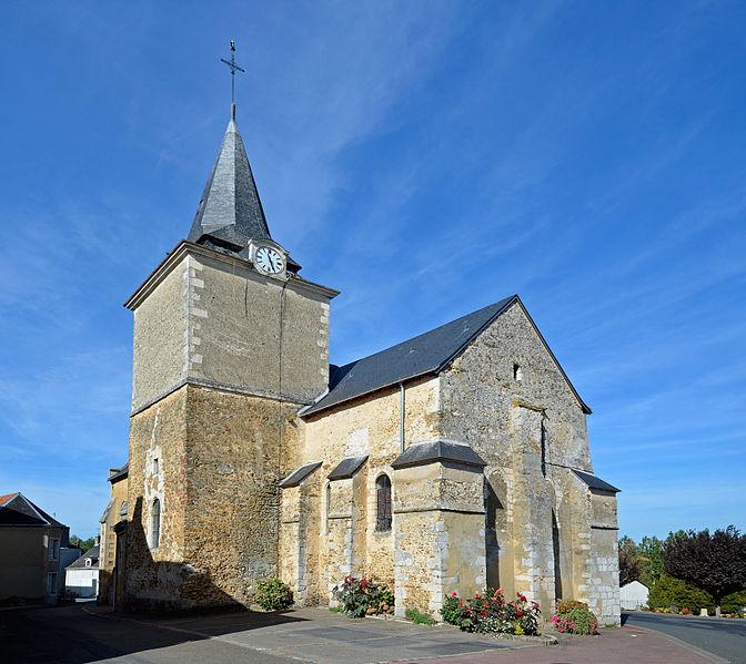 Photo du Monument Historique Eglise situé à Saint-Jean-de-la-Motte