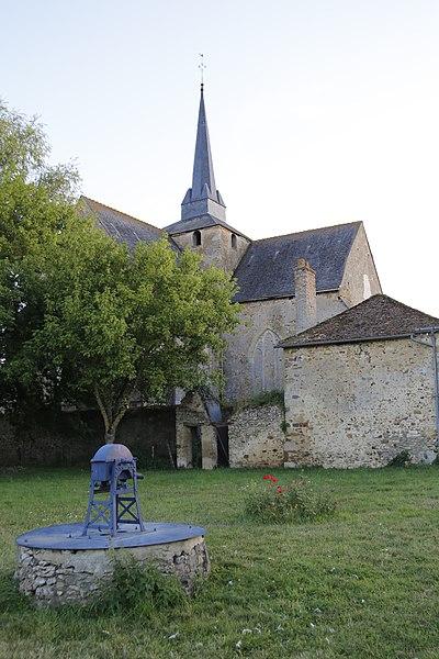 Photo du Monument Historique Eglise situé à Saint-Mars-sous-Ballon