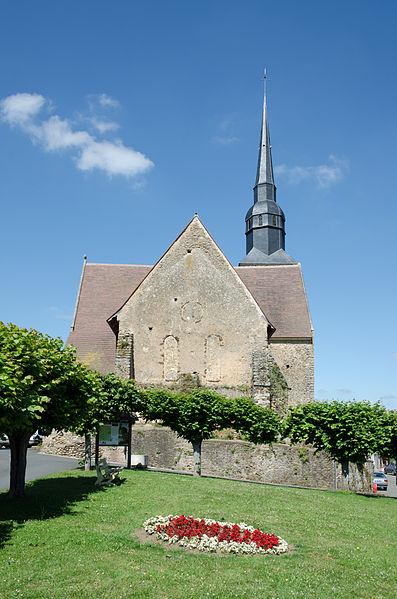 Photo du Monument Historique Eglise situé à Saint-Michel-de-Chavaignes