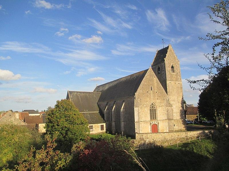 Photo du Monument Historique Eglise situé à Saint-Rémy-du-Val