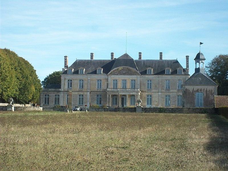 Photo du Monument Historique Domaine de Courtilloles situé à Saint-Rigomer-des-Bois