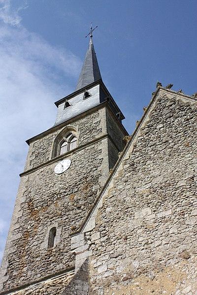 Photo du Monument Historique Eglise Saint-Ulphace situé à Saint-Ulphace