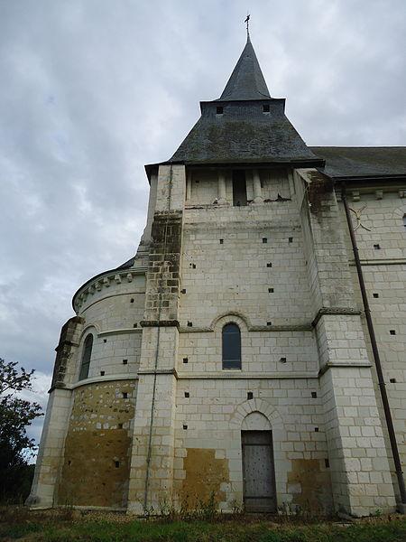 Photo du Monument Historique Eglise situé à Sarcé