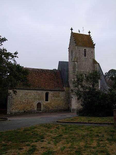 Photo du Monument Historique Eglise situé à Sceaux-sur-Huisne