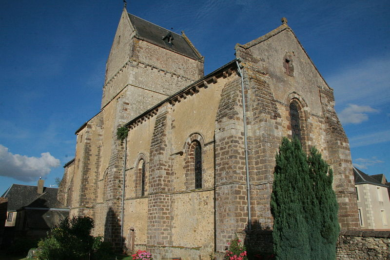 Photo du Monument Historique Eglise situé à Ségrie