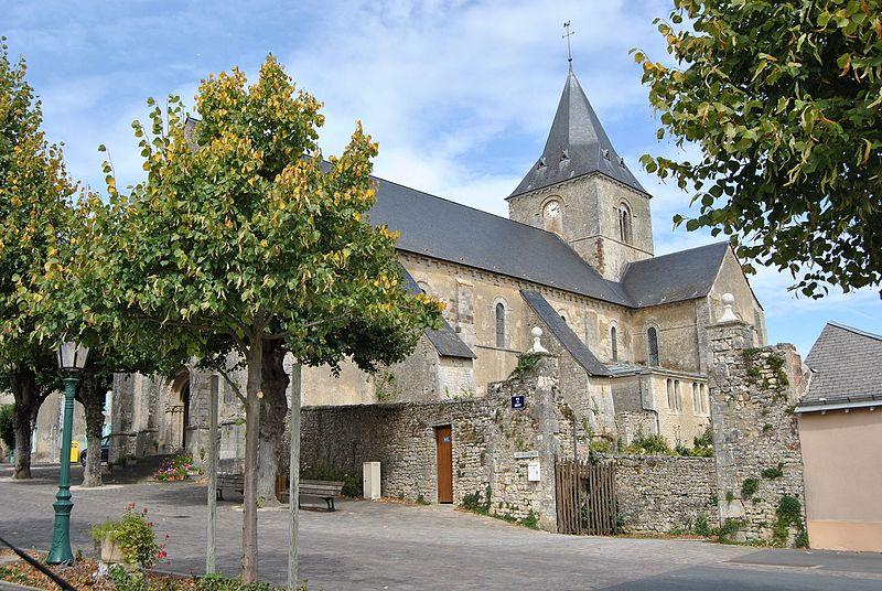 Photo du Monument Historique Eglise situé à Tennie
