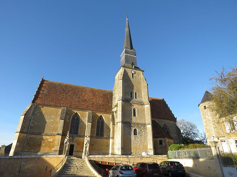 Photo du Monument Historique Eglise situé à Théligny