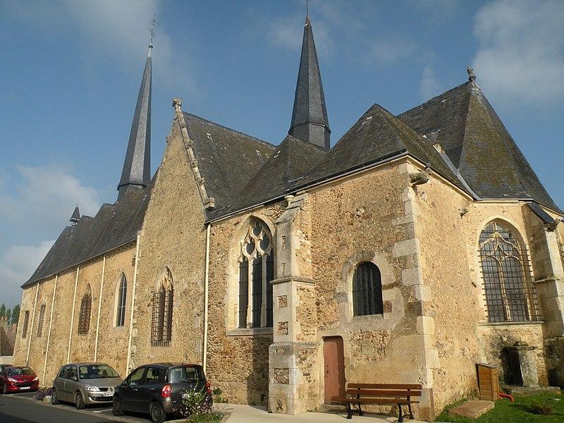 Photo du Monument Historique Eglise Notre-Dame situé à Torcé-en-Vallée