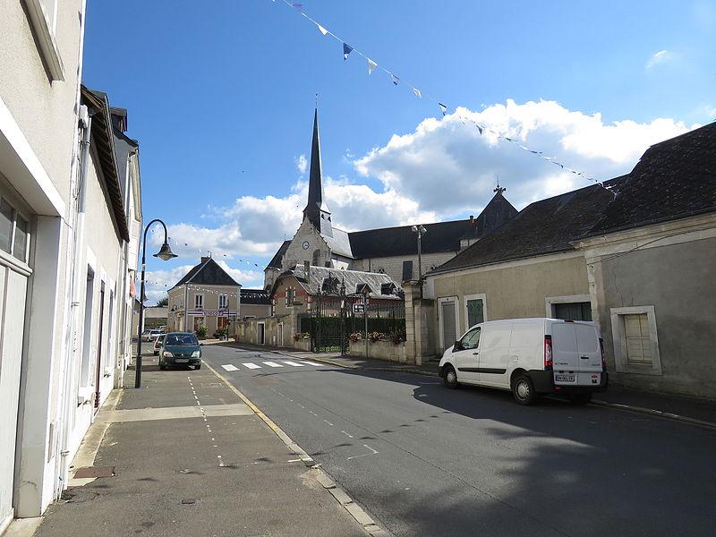 Photo du Monument Historique Eglise situé à Vaas