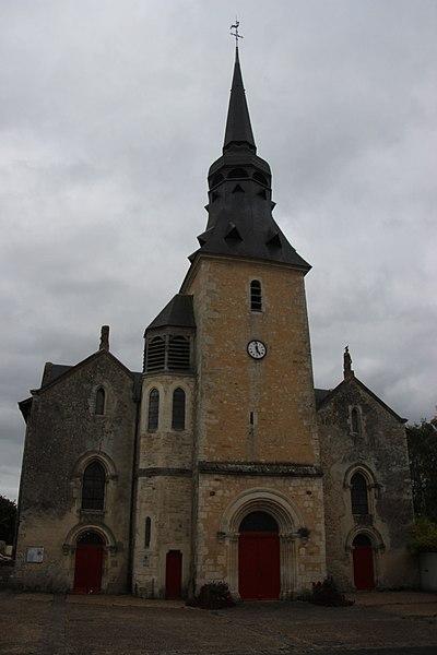 Photo du Monument Historique Eglise Saint-Pierre situé à Vallon-sur-Gée