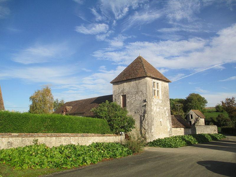 Photo du Monument Historique Ancien château de la Cour situé à Vezot