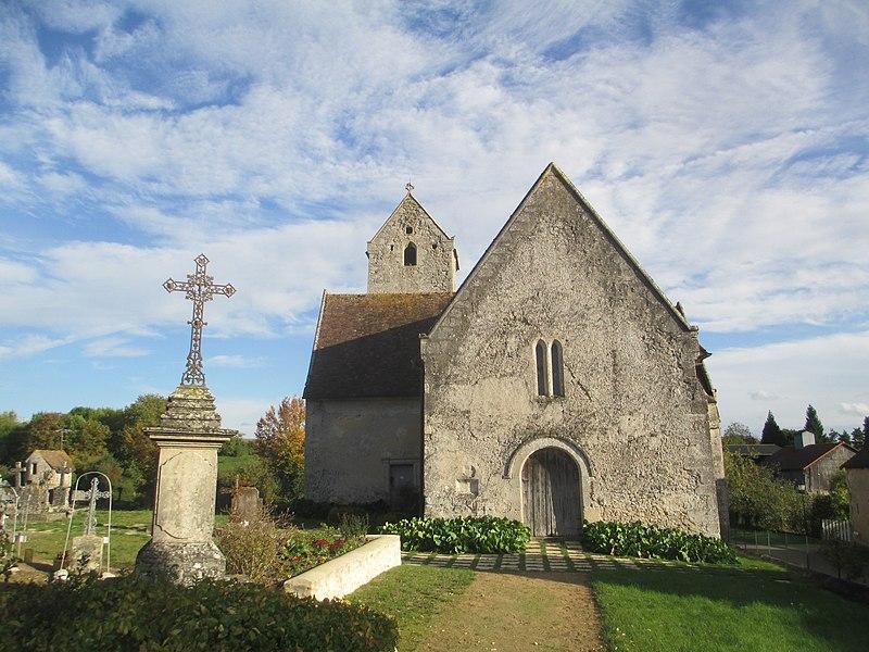 Photo du Monument Historique Eglise situé à Vezot
