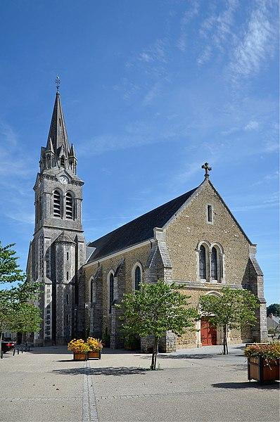 Photo du Monument Historique Eglise situé à Yvré-l'Evêque