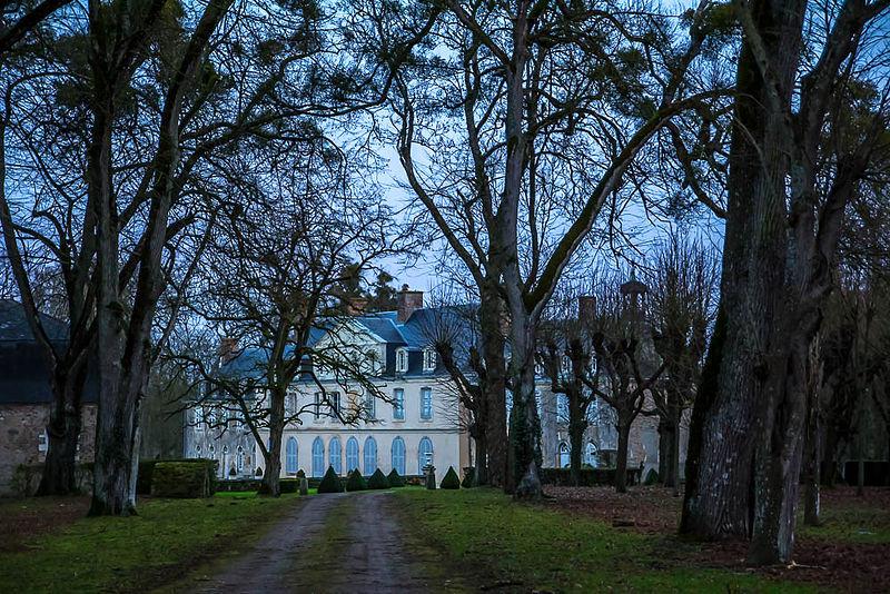 Photo du Monument Historique Château de Moulinvieux situé à Asnières-sur-Vègre